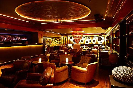 Modern restaurant furniture - Novikov London Night Guide