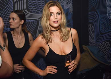 Ashley James is one of the Paper London Celebrities