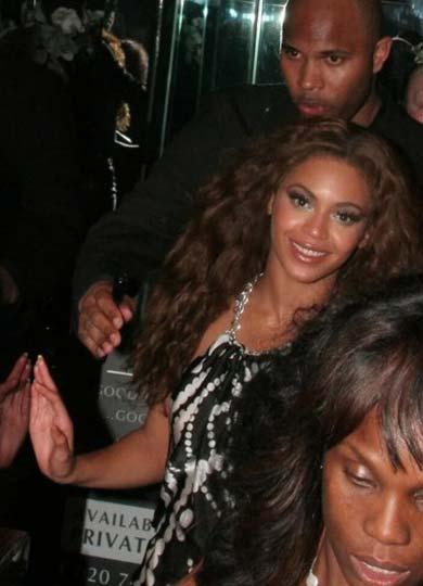 Beyonce is one of the Paper London Celebrties