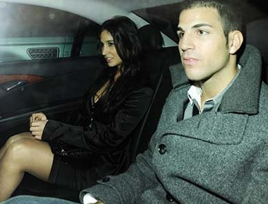Cesc Fabregas, is one off the Maddox London Celebrities