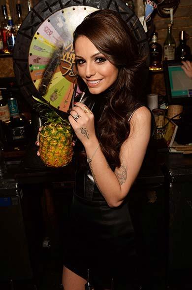Cher Lloyd is one of the Mahiki London Celebrities