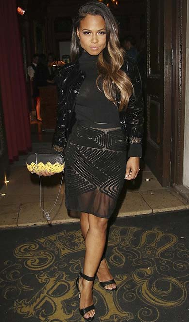 Libertine London Celebrities - Christina Milian