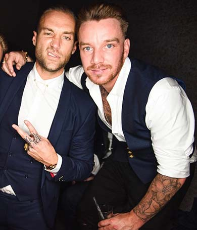 Jamie O'Hara is one of the Paper London Celebrities