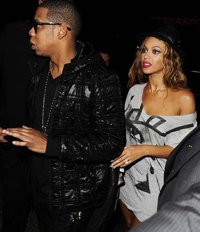 Jay Z and Beyonce are one of the Mahiki London Celebrities