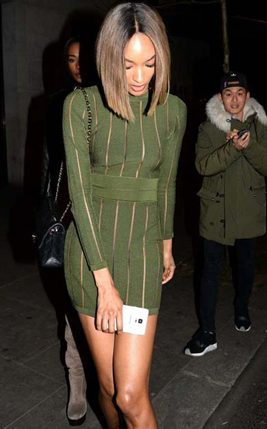 Jourdan Dunn is one of the Toy Room London Celebrities
