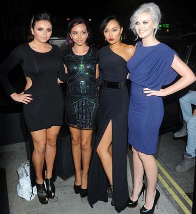 Little Mix is on the Mahiki London Celebrities List