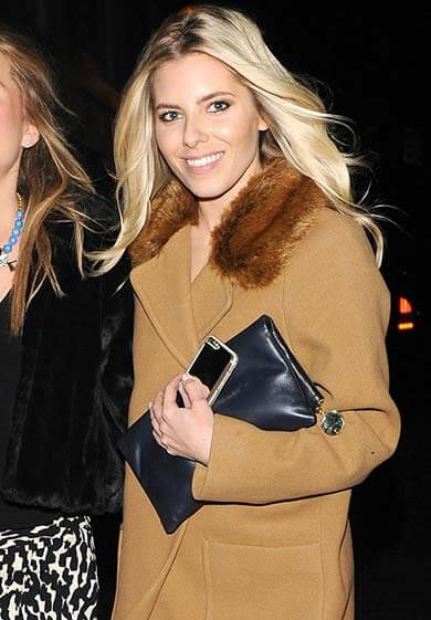 Mollie King is one of the Toy Room London Celebrities