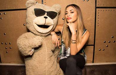 Nicole Scherzinger is one of the Toy Room London Celebrities