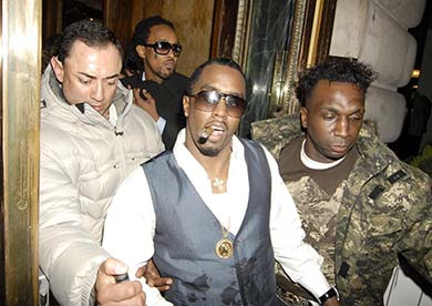 Puff Daddy is one of the Paper London Celebrities