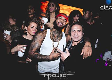 The Game is one of the Project Club London Celebrtiies