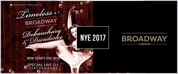 Broad Way NYE 2017