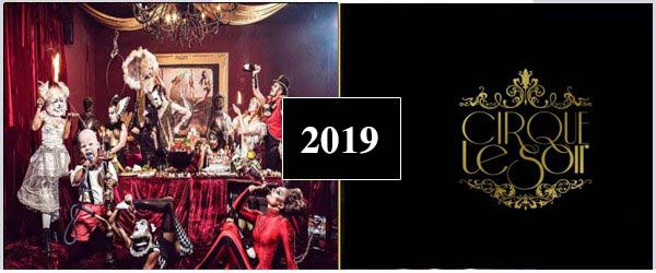 CIRQUE LE SOIR NYE PARTY 2019