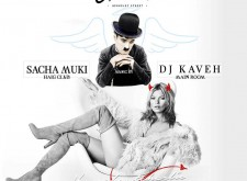 DJ Kaven and Sacha Muki at Charlie
