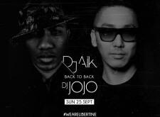 DJ Aik Back to Back DJ Jojo at Libertine