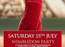 Wimbledon Party at Cafe de Paris