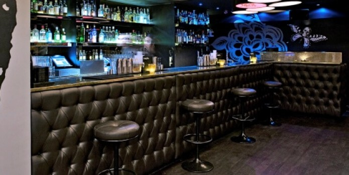 Graphic Bar : London's Top Bars. Great nightlife, extensive cocktail list, one of London's most exclusive bars.
