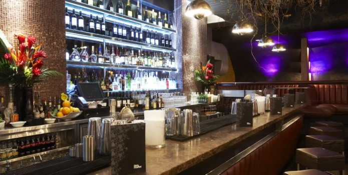 Dirty Martini : London's Top Bars. Great nightlife, extensive cocktail list, one of London's most exclusive bars.