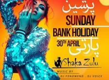 Sunday Bank Holiday at Shaka Zulu
