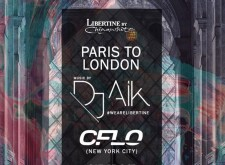 DJ Aik with CFLO from New York City at Libertine