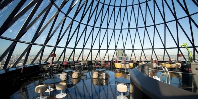 Searcy's Gherkin : London's Top Bars.