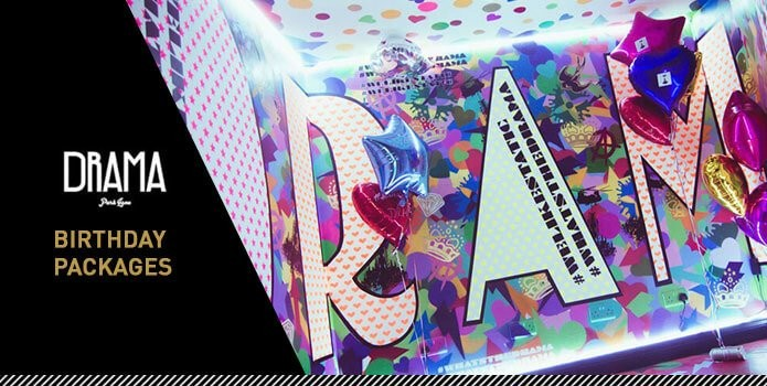 Drama Park Lane Birthday Packages Banner