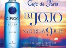 DJ Jojo at Cafe de Paris
