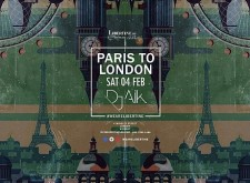 Paris to London at Libertine