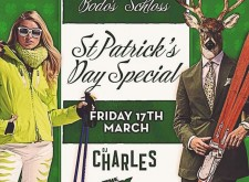 St. Patrick's Day with DJ Charles at Bodo's Schloss