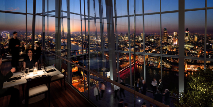 Aqua Shard : London's Top Bars.